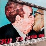 Beso Muro de Berlín en Alemania.