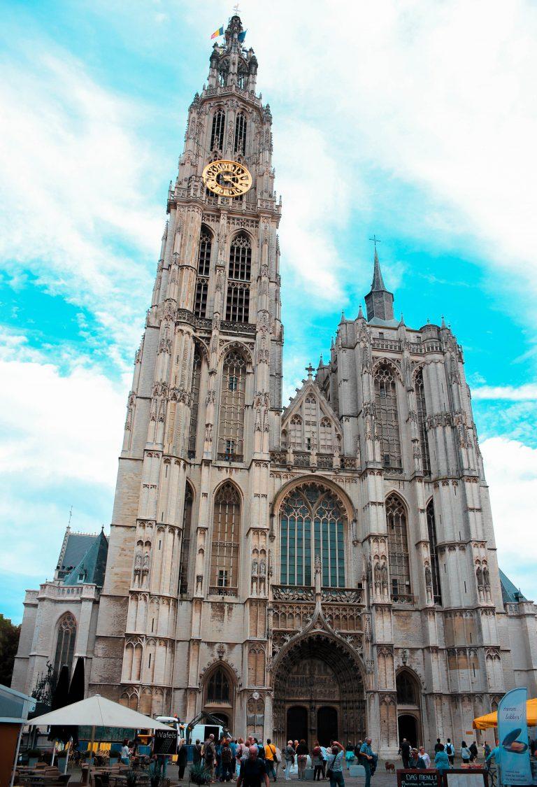 Catedral de Nuestra Señora en Amberes, Bélgica.