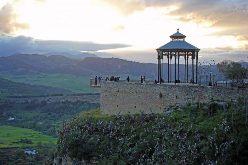 Balcón del coño en Ronda