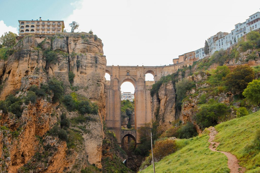 Puente nuevo Ronda. España