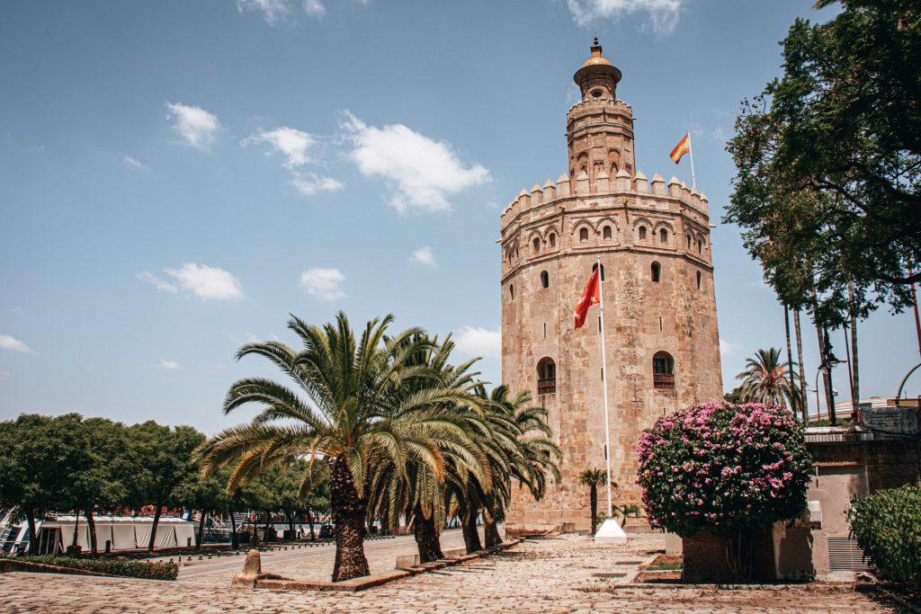 Torre del Oro de Sevilla, España