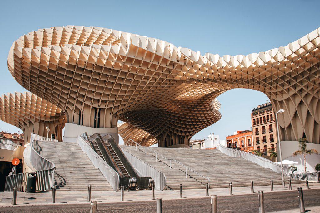 Setas de Sevilla, España