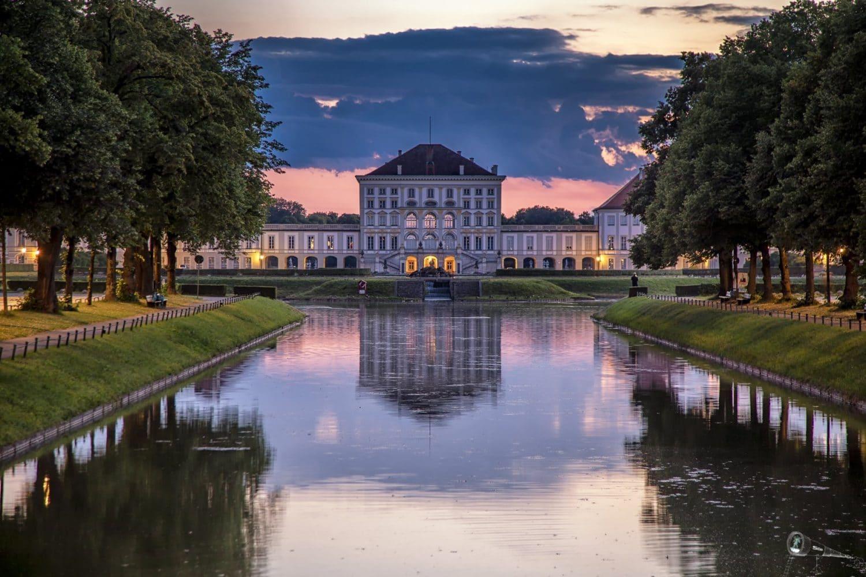Palacio Nymphenburg en Múnich, Alemenia.