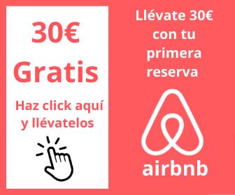 Banner airbnb descuento 30€