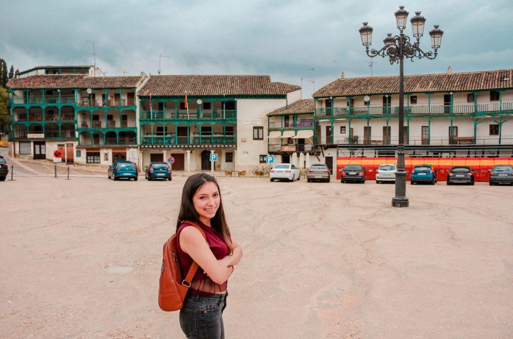 Chinchón. Pueblos con encanto cerca de Madrid, España.