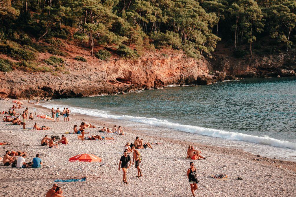 Kabak Beach, Turquía