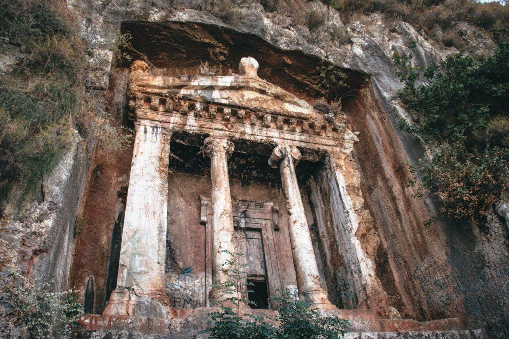 Amyntas Rock Tombs, Turquía