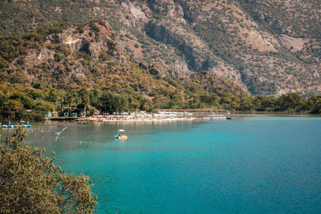Blue lagoon Ölüdeniz, Turquía