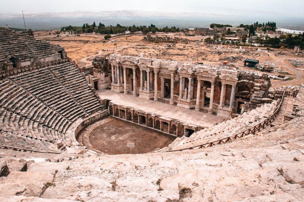 Anfiteatro Romano de Hierápolis en Turquía