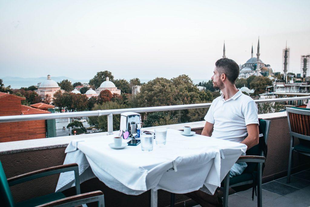 Restaurante 360 panorama restaurant en Estambul, Turquía