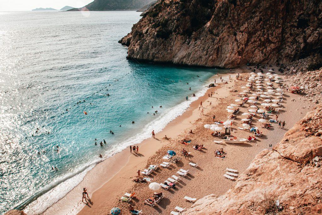 Kaputaş Beach en Turquía