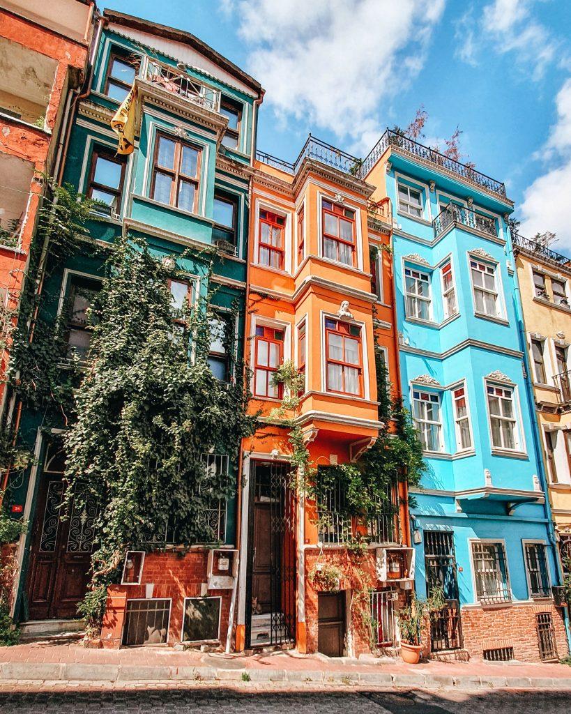 Barrio de Balat en Estambul, Turquía