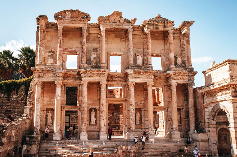 Biblioteca de Celso en Éfeso, Turquía