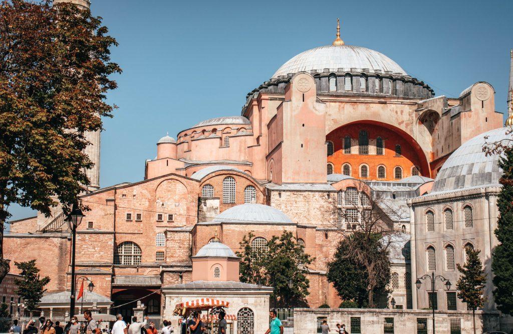 Mezquita de Santa Sofía en Estambul, Turquía