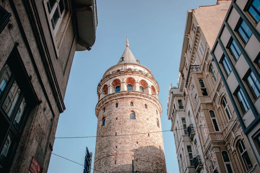Torre Gálata en Estambul, Turquía
