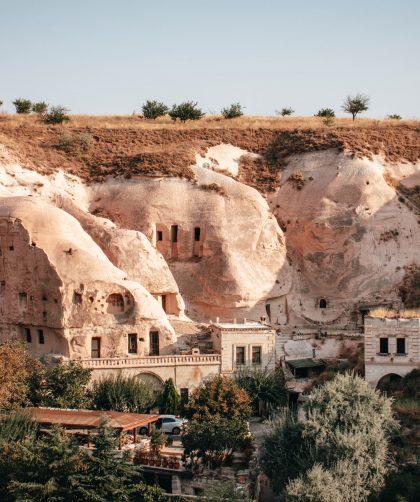 Çavuşin, en Capadoccia, Turquía