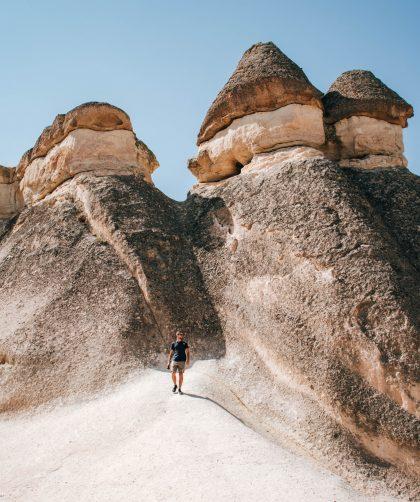 Paşabağ Valley en Capadocia, Turquía