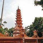 Tran Quoc Pagoda en Hanoi, Vietnam