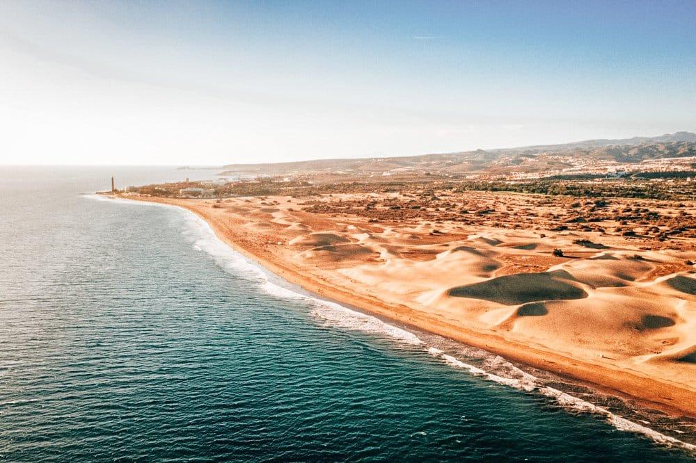 Dunas de Maspalomas en Gran Canaria. Qué ver y hacer en Gran Canaria