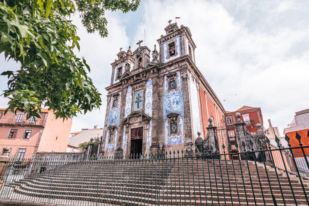 Iglesia de San Ildelfonso de Oporto, Portugal.