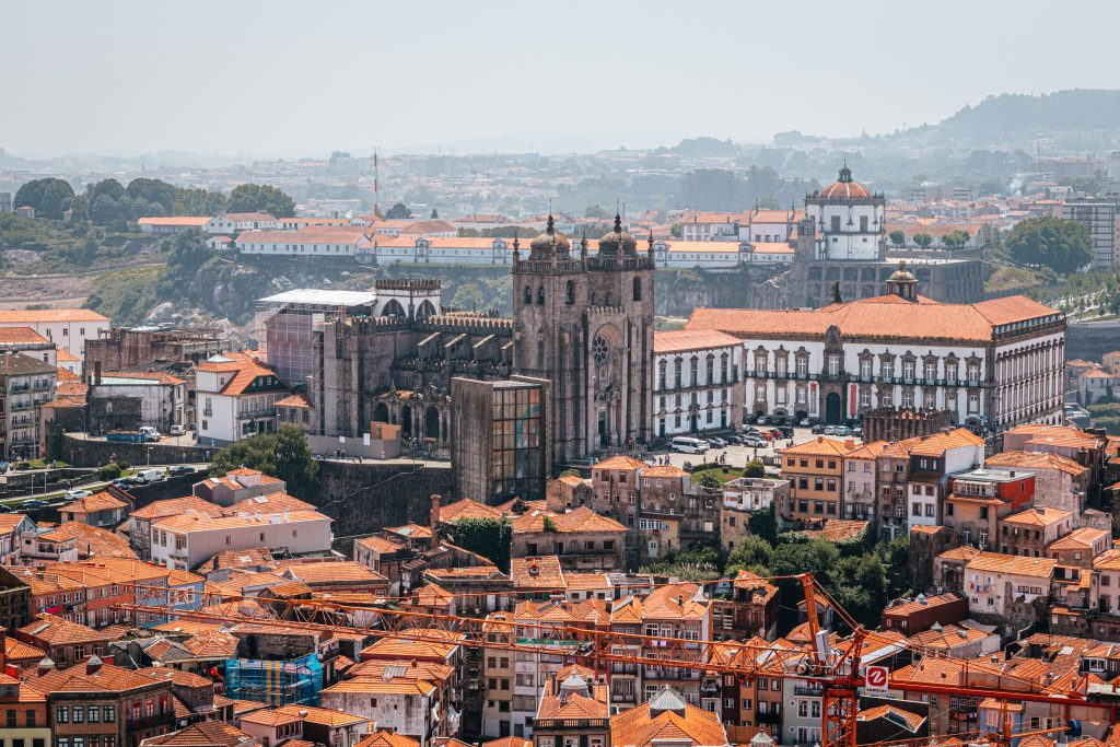 Catedral de Oporto en Portugal