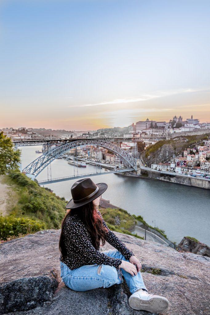 Mirador de Serra do Pilar, el mejor mirador de Oporto, Portugal.
