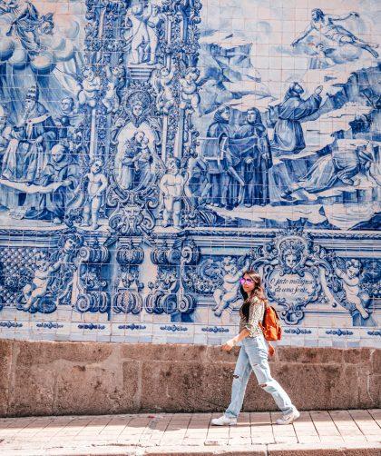 Capilla des almas en Oporto, Portugal.