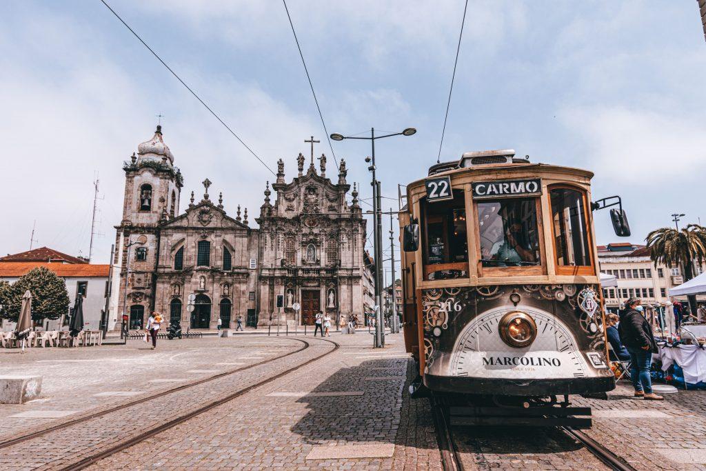 Iglesia do Carmo en Oporto, Portugal