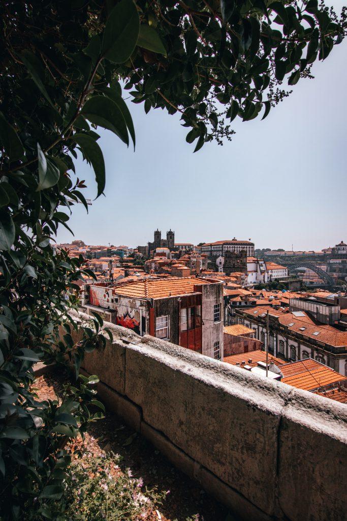 Mirador da Vitoria, uno de los mejores miradores de Oporto