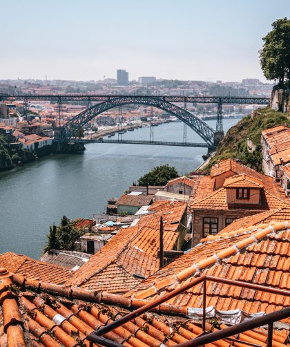 Mirador de Serra do Pilar, uno de los mejores miradores de Oporto