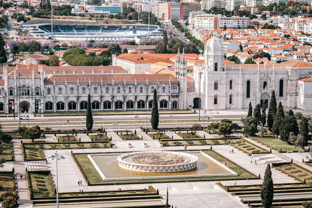 Monasterio de los Jerónimos en Lisboa, Portugal.