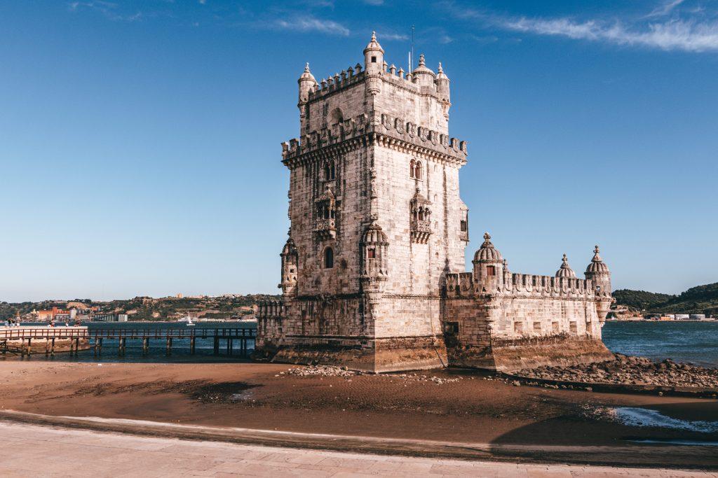Torre de Belém en Lisboa, Portugal.