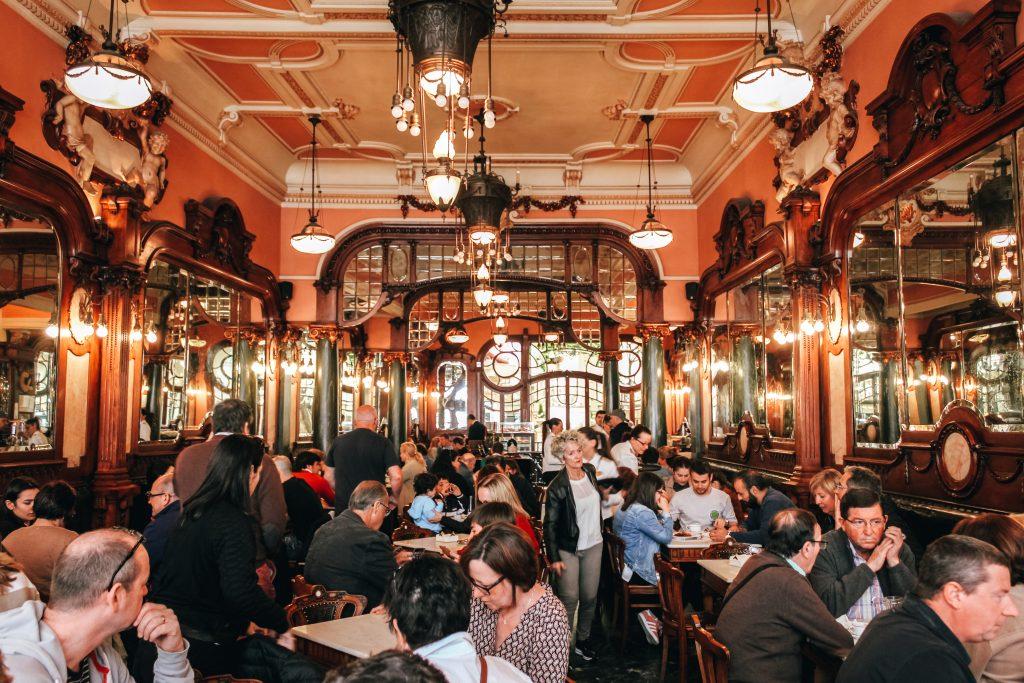 Café Majestic en Oporto, Portugal
