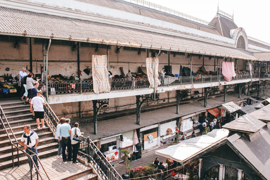Mercado Bolhao en Oporto, Portugal