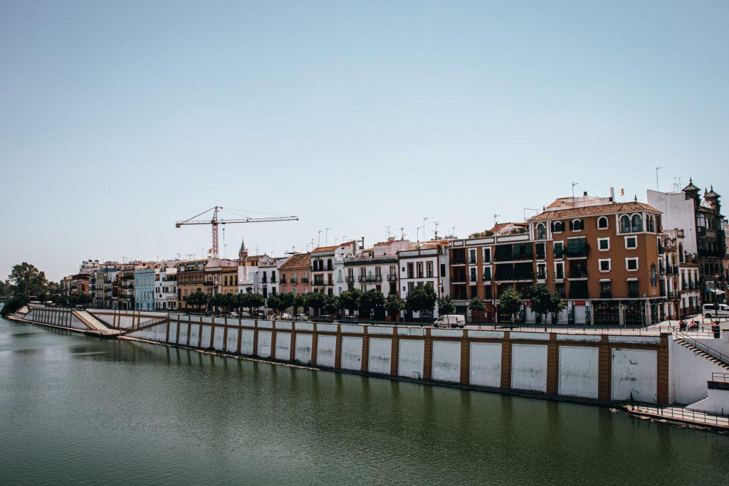 El Barrio de Triana en Sevilla, España