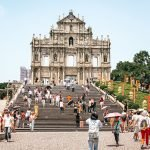 Ruinas de la Catedral de San Pablo en Macao