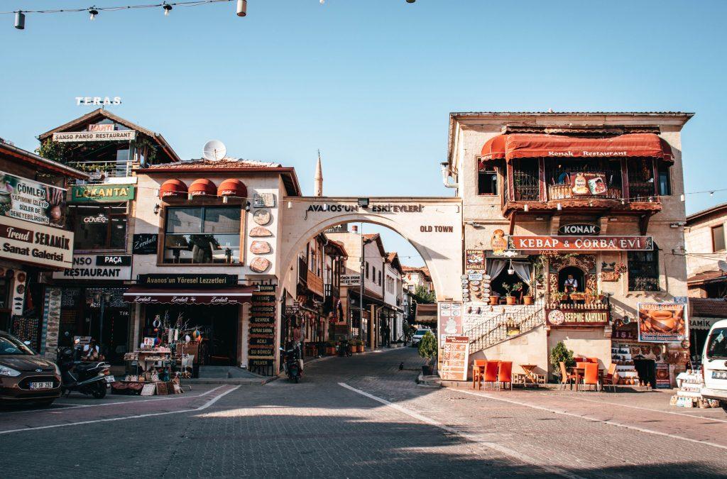 Avanos en Capadocia, Turquía